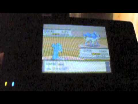 Pokemon Heart Gold Shiny Suicune