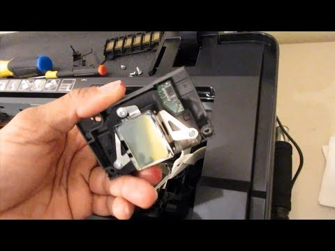 How To Replace Epson 1430 Print Head