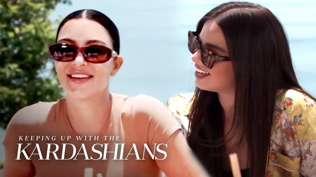 Kim Wonders Just How Close Are Kourtney Kardashian & Addison Rae?   KUWTK   E!