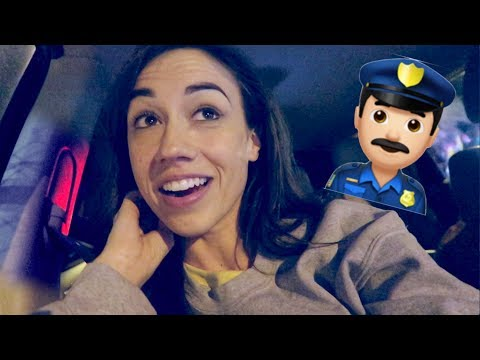 OMG WE GOT PULLED OVER ON TOUR! 😱