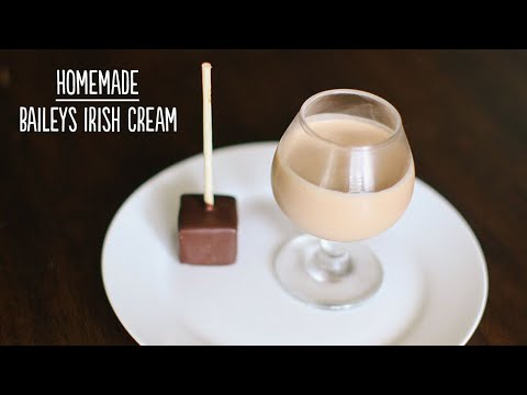 Homemade Irish Cream