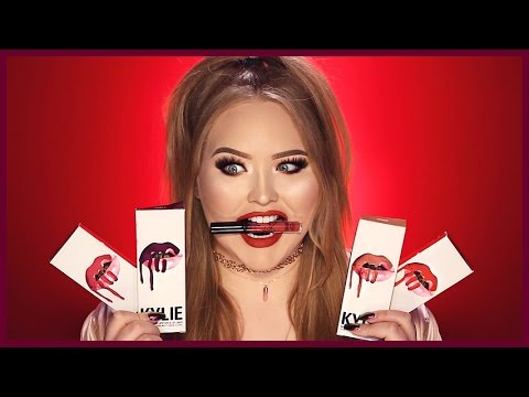 KYLIE JENNER LIP KITS | First Impressions & Swatches