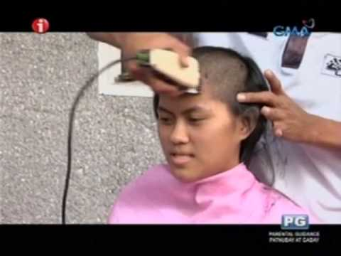 PHL Marines: Recruits have their heads shaved—even the women