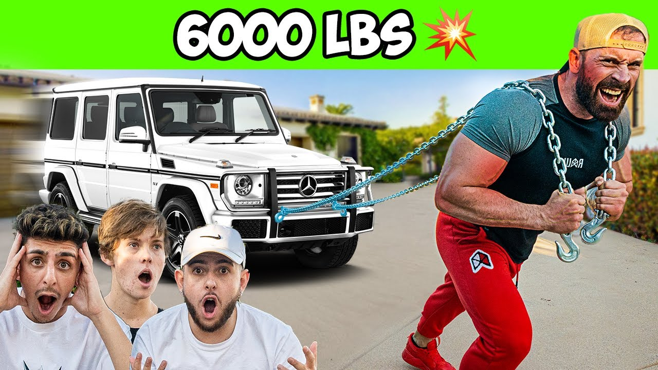 I Challenged YouTubers to a STRENGTH Competition!