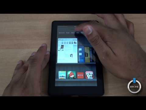 Amazon Kindle Fire Walkthrough - BWOne.com