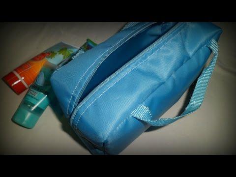 DIY Easy Makeup Bag | Sewing For Beginners