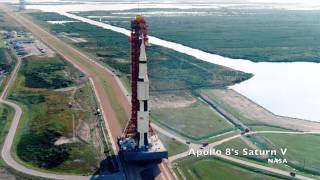 Why was the Saturn V Black and White?