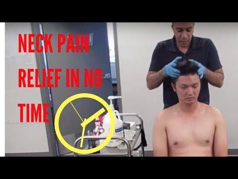 """""""Unbelievable!"""" Neck Pain Relief Treatment!"""
