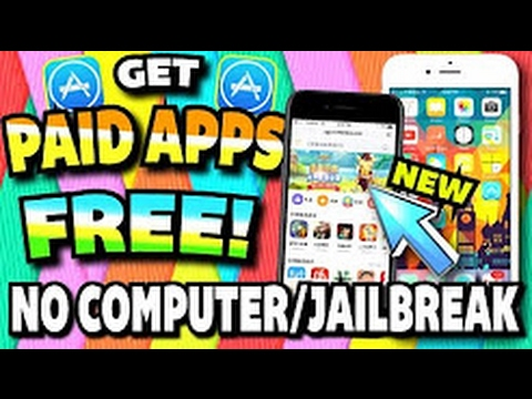 Get PAID Apps/Games FREE (WITHOUT Jailbreak / Computer) iOS 10 - 10.1.1/10.2 & 9 iPhone, iPad, iPod
