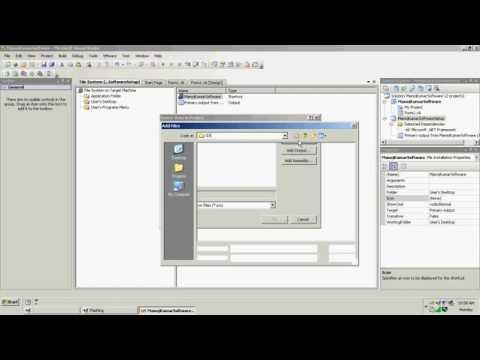 Create Setup .exe For VB NET Project in vs 2008