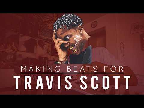 Making Beats For: Travis Scott | (Using Ableton Live)