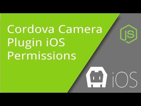Cordova iOS Camera Permissions