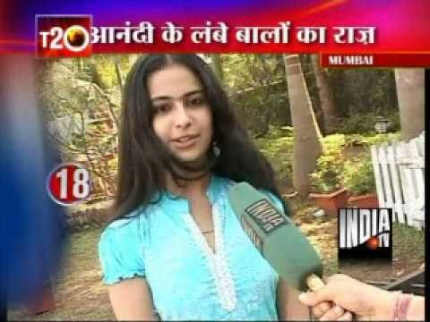 Aanandi Gives Tips For healthy hair