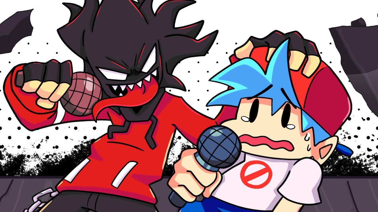 BOYFRIEND vs. AGOTI?! Friday Night Funkin' Logic  (Cartoon Animation)