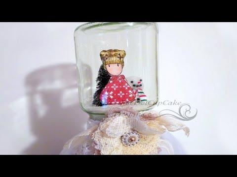 Captured Gorjuss Girl Waterless Snow Globe