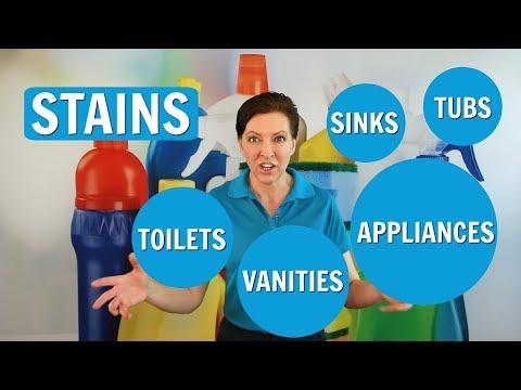 How to Get Rid of Permanent Stains on Sinks and Vanities