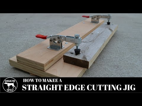 How to make a Straight Edge Cutting Jig