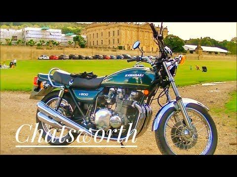 Z900 Bike Vlog:  Matlock, Chatsworth,  Edensor and Matlock Bath