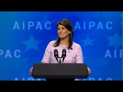 AIPAC 2018 Day2: Nikky Haley, Mike Pence, Chuck Schumer and others...