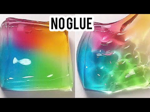 !!MUST WATCH!! !!REAL!! HOW TO MAKE THE BEST CLEAR SLIME WITHOUT GLUE, WITHOUT BORAX! EASY SLIME!