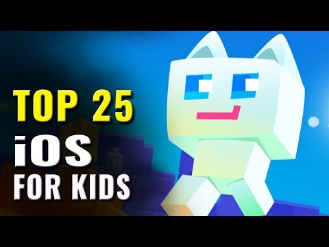 Top 25 Best iOS Games for Kids of All Time