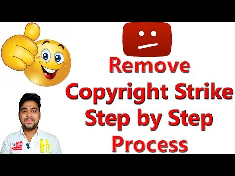 Remove Copyright Strikes on YouTube || Submit Counter Notification || Hindi
