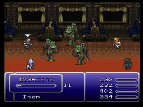 Final Fantasy VI (Blind) - Ep.10 - Blossom Dance!