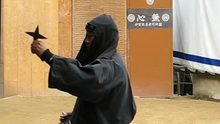 NINJA SHOW AT IGA UENO IN JAPAN