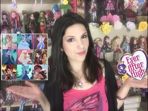 Ever After High - NEW DOLLS Wishlist