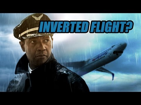 Flight Movie: Can an airliner fly upside down? [Simulation]