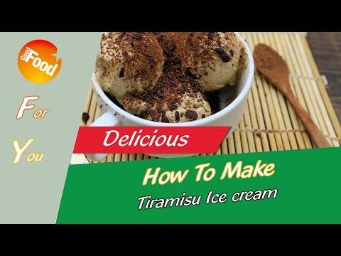 How to make: Tiramisu Ice cream