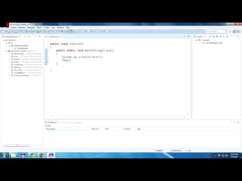 Java Tutorial 1: Hello Java! Getting Started With Eclipse!