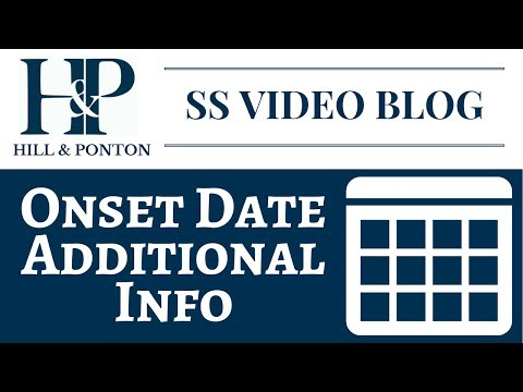 Onset Date - Additional Information