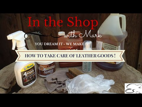 How to clean your leather goods