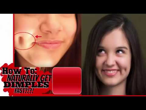 how to get dimples naturally/chehry par dimples bnana asan/how to get dimples quickely