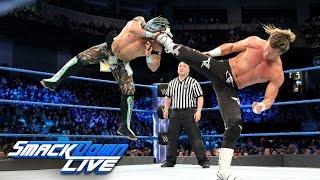Kalisto vs. Dolph Ziggler: SmackDown LIVE, Jan. 24, 2017