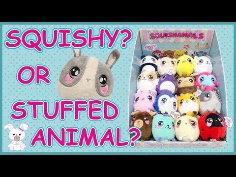 SQUISHAMALS! Squishy AND a Stuffed Animal!? So FUN!