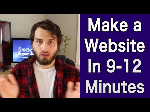 How To Make Your Own Website (11 Minute WordPress Tutorial)