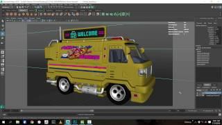 Ambient Occlusion render pass in Autodesk Maya - PakVim net HD