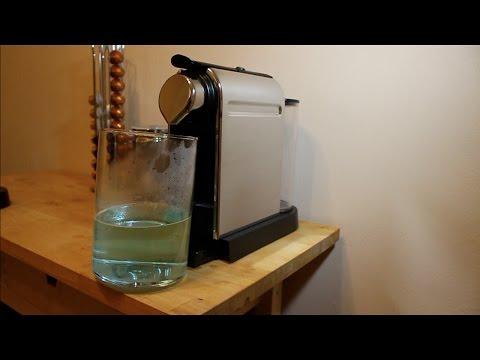 Nespresso - How to Descaling