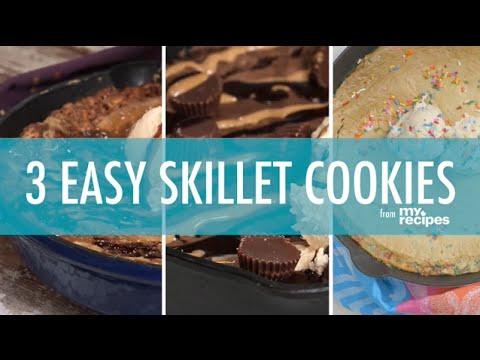 3 Easy Skillet Cookies | MyRecipes