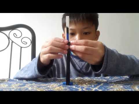 Lego technic balisong/butterfly knife tutorial easy