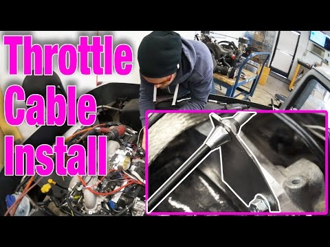 LOKAR Custom Throttle Cable