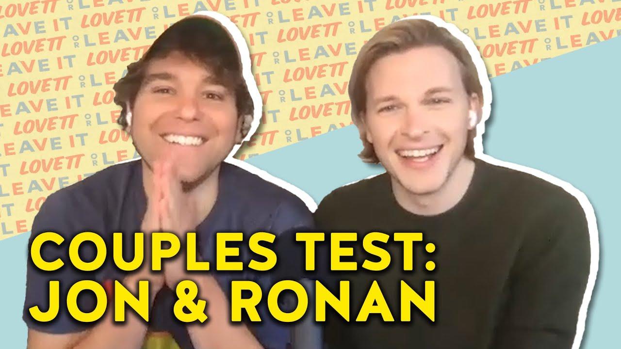 Jon Lovett and Ronan Farrow Test Their Relationship... Again   Lovett or Leave It