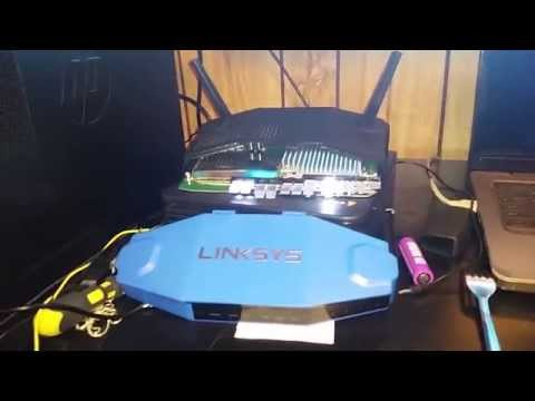 Unbrick/flash firmware to Linksys Wrt1200/1900ac wireless routers