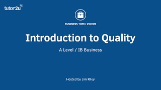 Quality Managment - Introduction