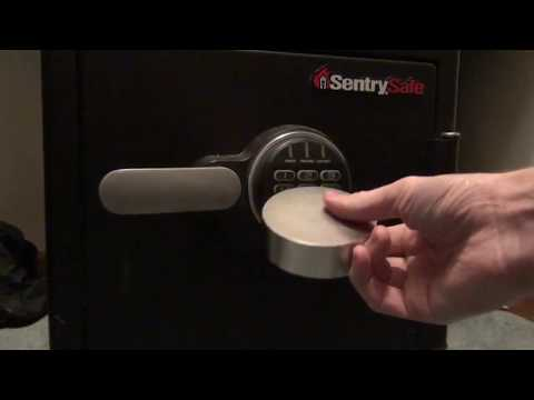(229) Opening a Sentry Electronic Safe with a Magnet