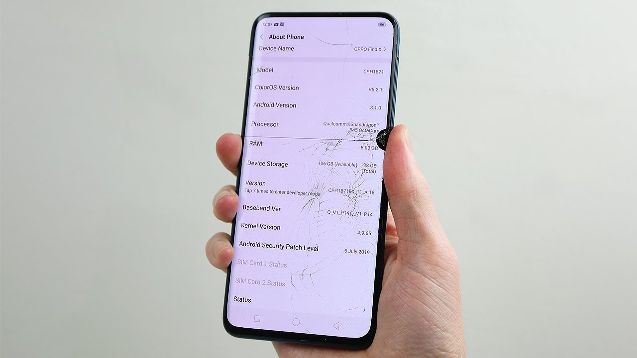 Abused Oppo Find X Restoration - Fixing A Botched Repair.
