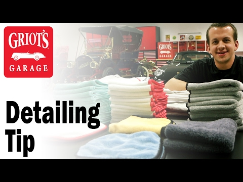 Griot's Garage - Detailing Tip: How to care for your microfiber towels