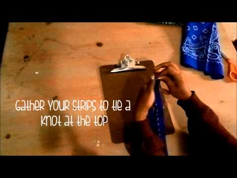 Bandana Bracelet Tutorial [Bandana Project]